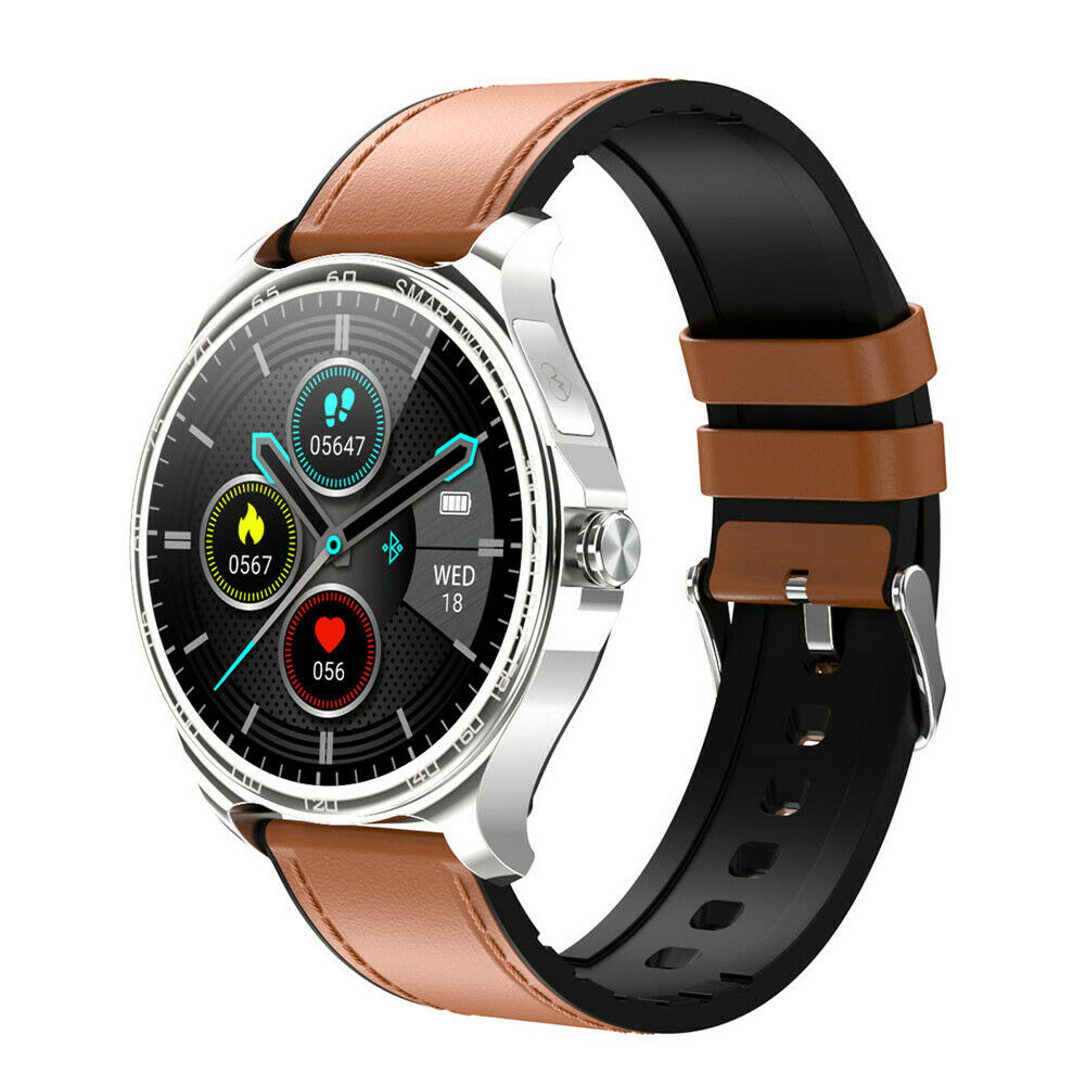 Fashion Smart Watch ECG Heart Rate Monitor Sport for iPhone Samsung Note 8 9 10+ ecg fashion Featured for heart iphone monitor rate smart sport watch