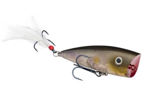 Strike King Topwater Popper Splash HCKVDSPL-684 Clearwater Minnow Lure