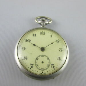 VTG-SWISS-Pocket-Watch-for-parts-or-repair