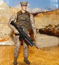 1:18 BBI Elite Force U.S Army  Recon Rifleman Sgt Figure Soldier 3 3/4""