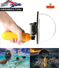 """6"""" Scuba Diving Underwater Camera Lens Dome Cover Shell Grip For GoPro 3 3+ 4 UK"""