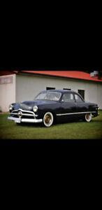 1949 ford coupe   custom car   hot rod   period correct