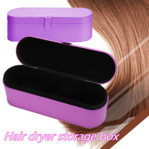 Purple Hair Dryer Hard Case Storage Carry Box For Dyson Supersonic HD01  z h