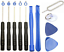 Kit-demontage-complet-11-outils-SMARTPHONE-IPHONE-SAMSUNG-Tournevis-Torx miniature 2