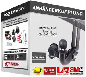 E-SATZ 7-polig Anhängerkupplung Starr AHK BMW 3er E46 Touring