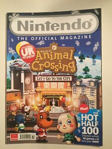 Official Nintendo Magazine Issue 37 Christmas 2008 Wii Animal Crossing - Totland Bay, Isle of Wight, United Kingdom - Official Nintendo Magazine Issue 37 Christmas 2008 Wii Animal Crossing - Totland Bay, Isle of Wight, United Kingdom