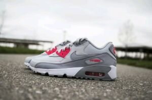 the best attitude 1acc8 54113 Image is loading NIKE-AIR-MAX-90-LEATHER-GS-WOMEN-NEW-