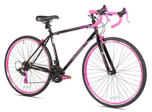 """700c SGK Pink//Black Women/'s 21-Multi Speed Hybrid Comfort Road Bike 19/"""" Frame"""