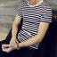 Men-Stylish-Tee-Slim-Fit-Striped-T-shirts-Casual-Shirt-Fashion-Short-Sleeve-Tops thumbnail 7