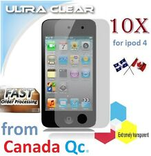 10X HD clear screen protector ipod 4 4th film guard LCD shield protection NEW