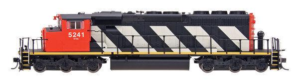 Scala H0 - Locomotiva Diesel SD40-2W Canadian National con DCC - 49301 Neu