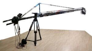4.5m Kamerakran mit Stativ, Kopf und Fernbedienung, 4.5m Crane with head+remote - Wien, Österreich - 4.5m Kamerakran mit Stativ, Kopf und Fernbedienung, 4.5m Crane with head+remote - Wien, Österreich