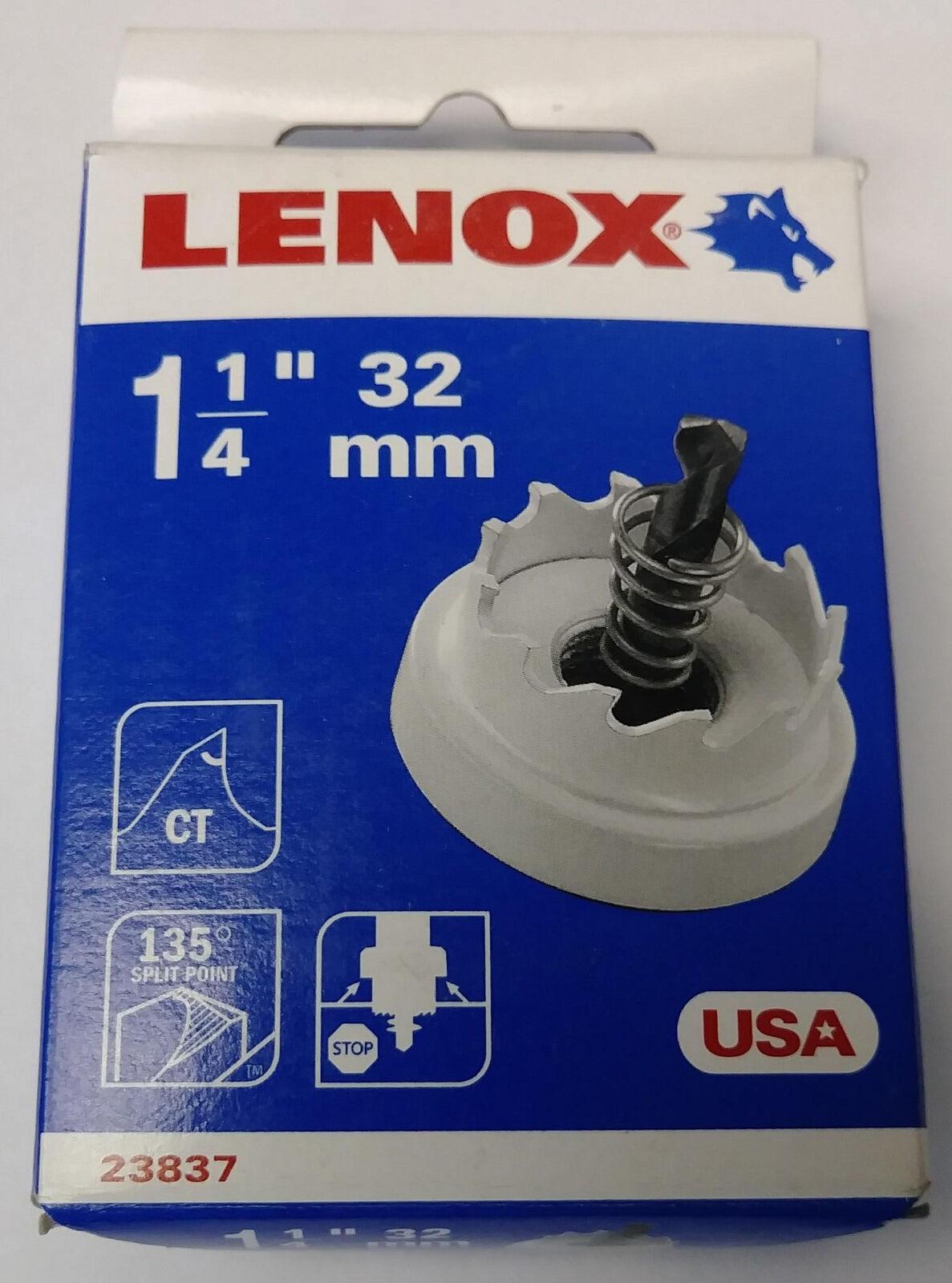 "LENOX 1-1//4/"" SPEED SLOT BI-METAL HOLE SAW BLADE USA 1829026 METAL WOOD CUTTING"