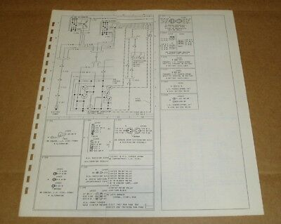 1978 Ford CL9000 truck wiring diagram schematic SHEET ...
