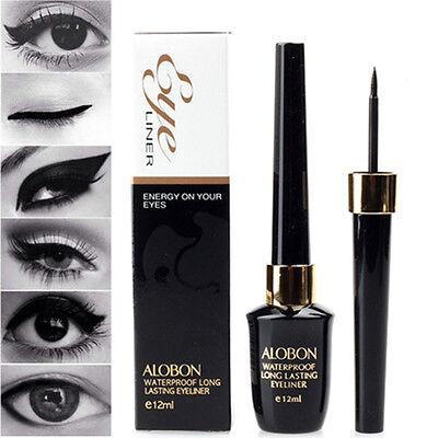 Beauty Waterproof Black Eyeliner Liquid Eye Liner Pen Pencil Makeup Cosmetic New
