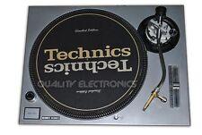 Technics Face Plate For Technics SL-1200 / SL-1210 MK5/ M3D Turntable (Silver)