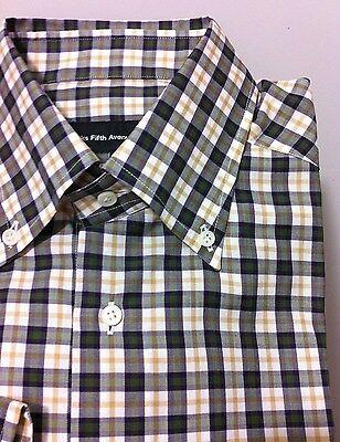 M/50/40 Reg.fit Shirts Nw$275 Saks Fifth Avenue Luxury 170/2 Luxury Class Shirt 39tag