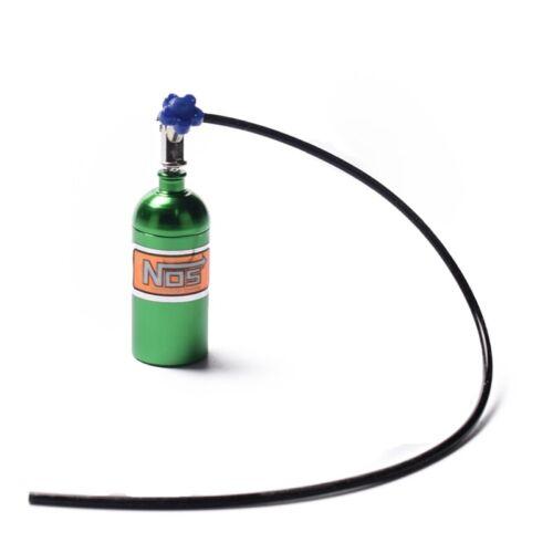 Metall Simulierte NOS Stickstoffflasche für 1//10 RC Crawler Auto Defender B A8F1