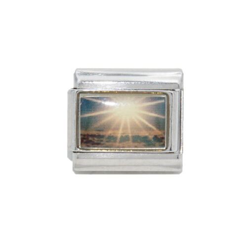fits 9mm classic Italian charm bracelets Guiding light Heaven Italian Charm