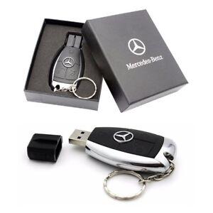 Details about Mercedes Benz Key Fob Box USB Memory Pen Flash Drive 32GB  64GB 128GB 1st Class
