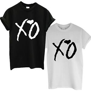 Image Is Loading Xo T Shirt The Weeknd Starboy Top Octobers