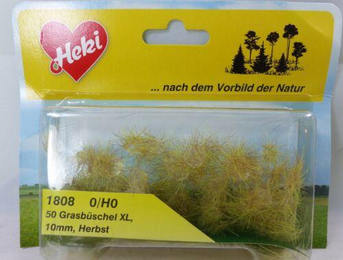 Heki 1808 H0  Grasbüschel XL Herbst 50 Stück 10 mm hoch USA Wüste
