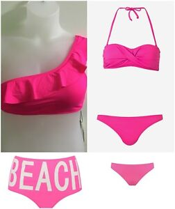 Swimwear Bikini Top Bottom Ladies Seprates Bandeau Bikini Top Swimdress Primark