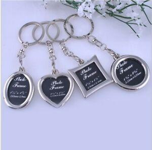 Vogue-Insert-Photo-Picture-Frame-Custom-Keyring-Key-Ring-Keychain-DIY-Xmas-Gift