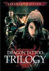 Dragon Tattoo Trilogy Extended Editio 0736211214058 DVD Region 1