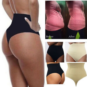 47319b75701a3 Body Shaper Control Tummy Corset Waist Trainer UK Shapewear Thong ...