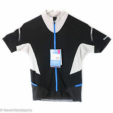 Shimano Escape Women's Cycling Jersey Full Zip Black/Gray Small