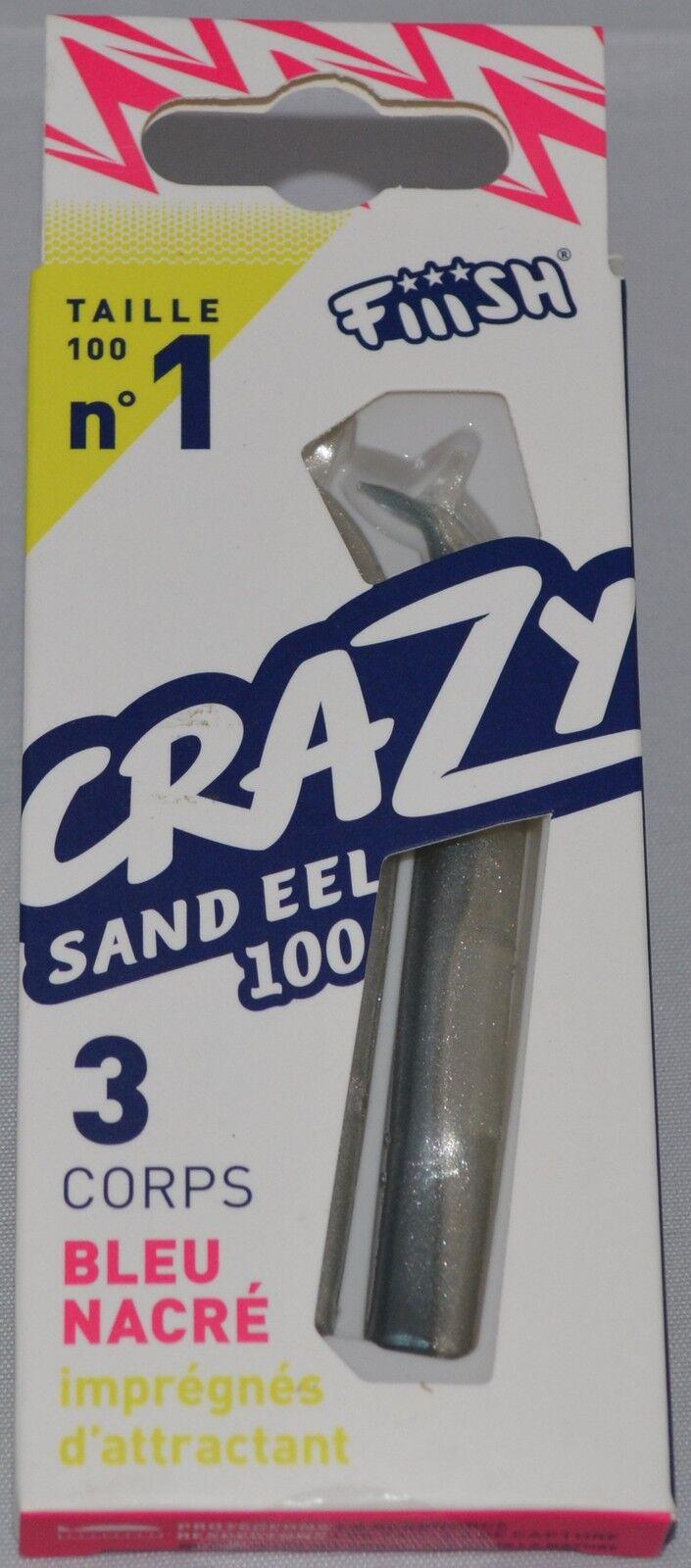 FIIISH Crazy lançons organes-le 100mm-Combo-toutes les têtes de jig-tous les organes-le lançons jour même poste a31e63