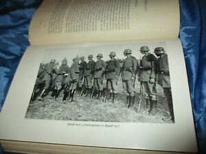 Antik-Buch-1934-Generalfeldmarschall-von-HINDENBURG-Aus-meinem-Leben