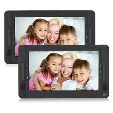 10 Zoll 2 Monitore Tragbarer Dvd Player Kopfstütze Auto Fernseher 2 Bildschirme