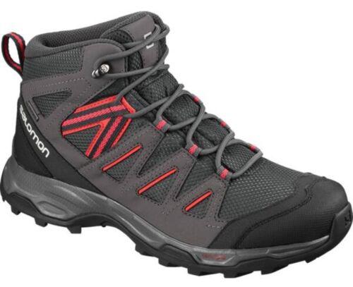 Salomon Hillrock Mid GTX Damen Gore Tex Trekkingschuhe Outdoor Schuhe