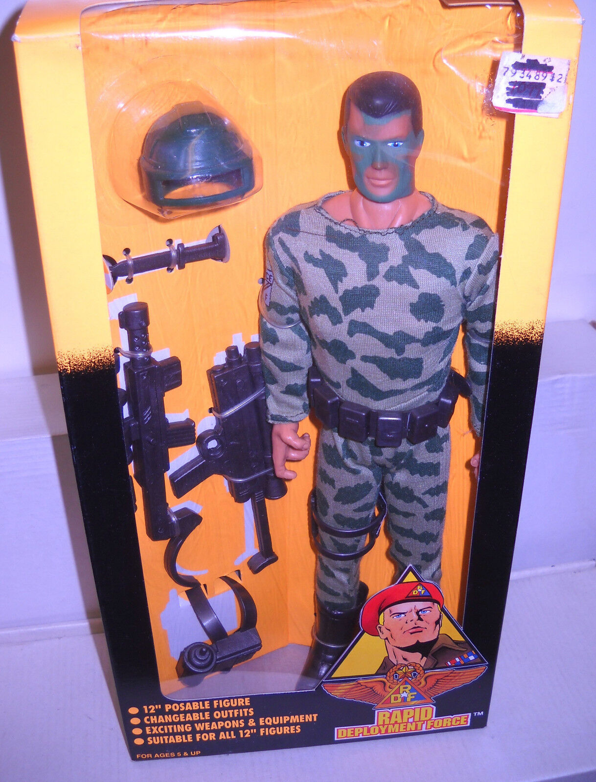 8001 NRFB Rapid Deployment Force Night Fighter 12  Military Figure