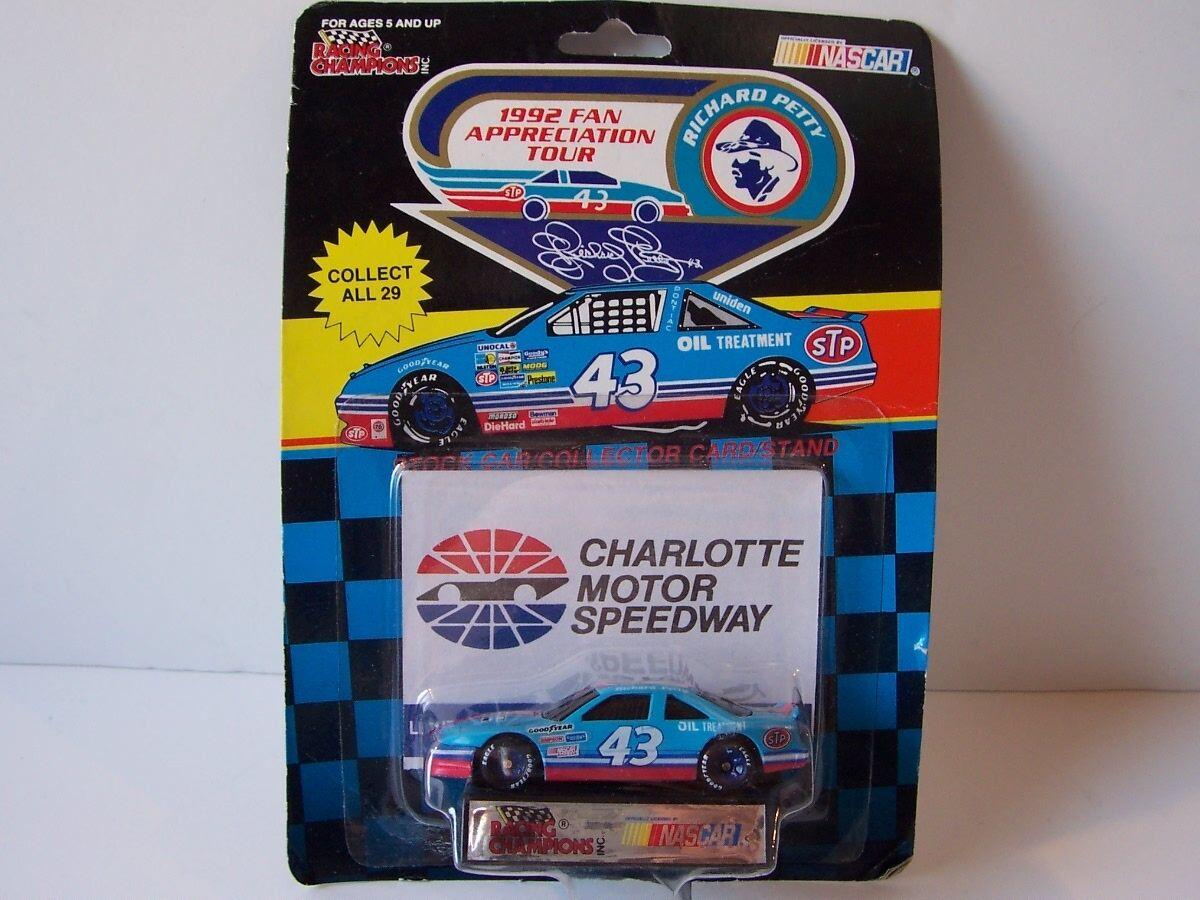 Racing Champions Charlotte Motor Richard Petty Fan Tour LE Diecast M