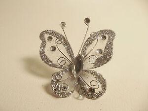 5-x-Glitter-Organza-Gauze-Butterflies-BNGGB12-Pale-Grey