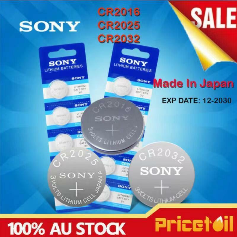 NEW Sony CR2032 CR2016 CR2025 Button Cell 3V Lithium Cell Bulk Sale