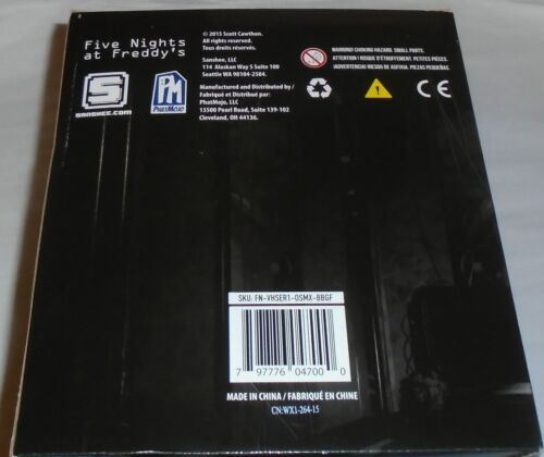 NEW CASE OF 24 ~FIVE NIGHTS AT FREDDY/'S~ BACKPACK HANGERS CLIPS FREE SHIP