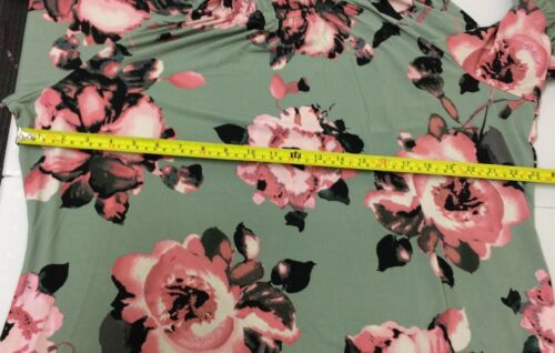 4 T Floral 3 Rrp£40 Peasant amp; Sleeve Top Size2xl Print shirt Denim Co E113 Bell SfXv4q