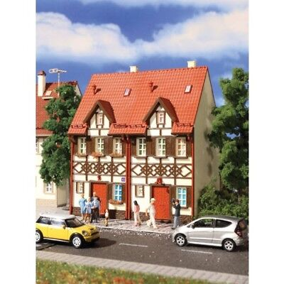 Vollmer 3844 HO Scale Semi-Detached Stucco House Pack 2 Scenery Structure