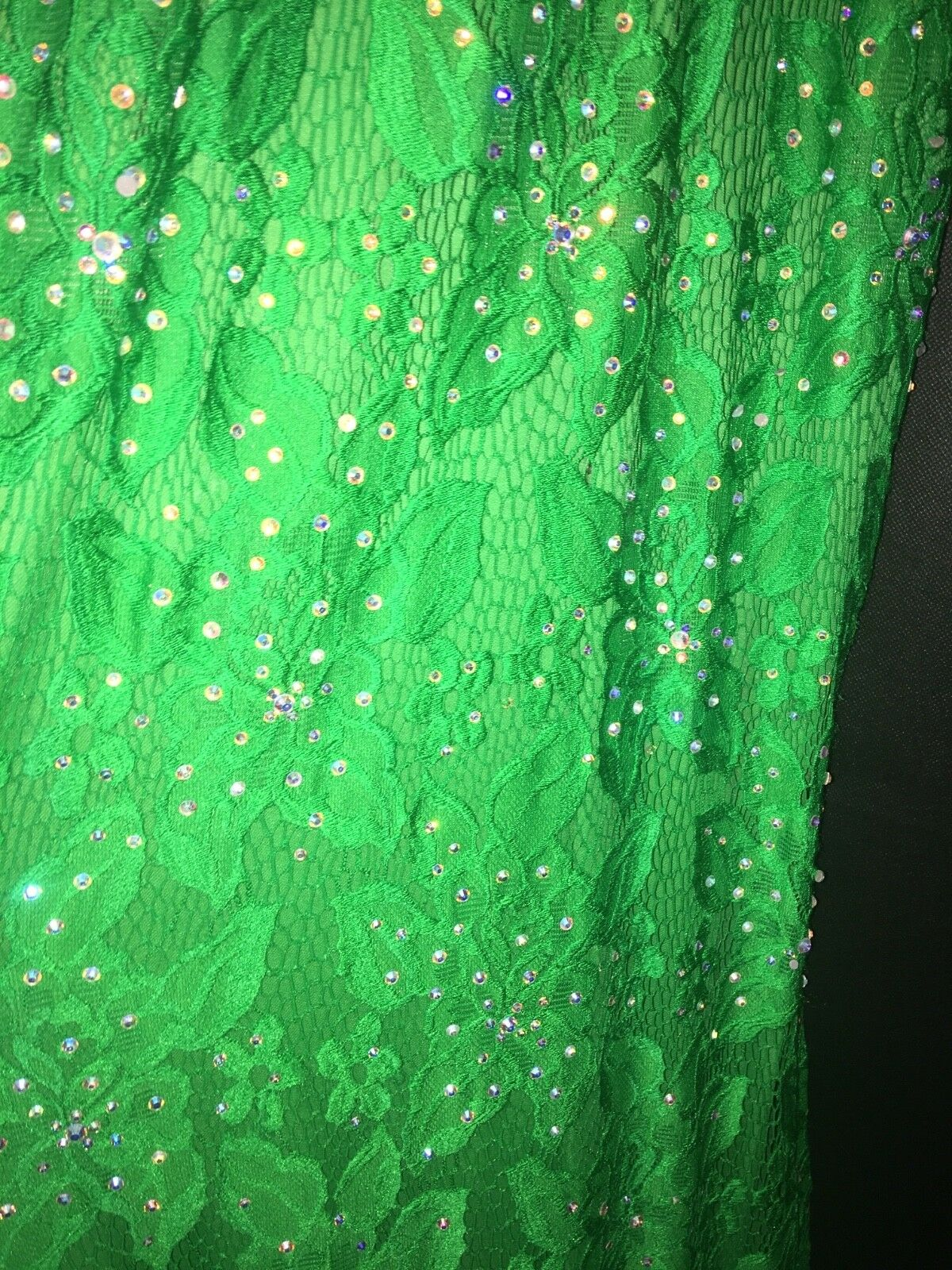 Jovani Long Laced and Jeweled Green Green Green Prom Dress Size 0 6a7372