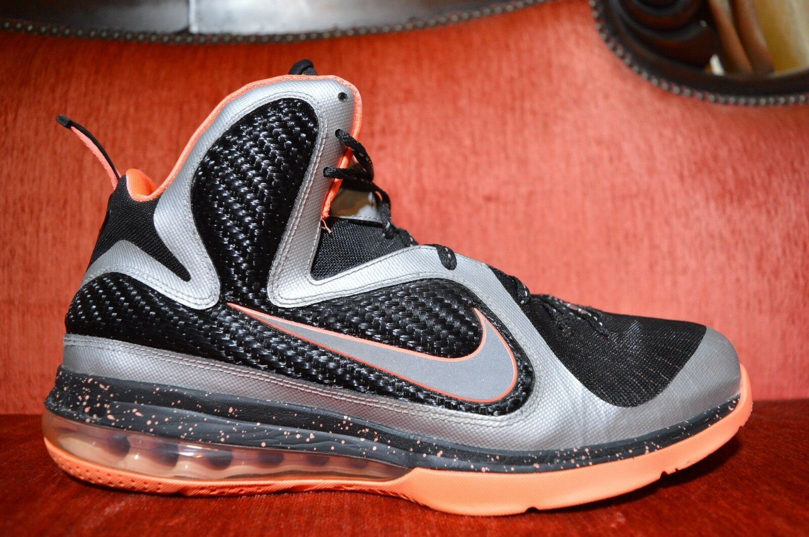 Pulire nike air lebron ix 9 mango 469764 005 james basket 46