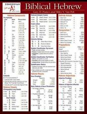 Zondervan Get an a! Study Guides: Biblical Hebrew by Miles V. Van Pelt, Gary D. Pratico and Pelt Pratico (2005, Print, Other)
