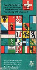Carta turistica della Svizzera