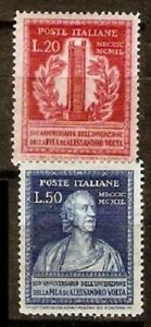 Italy-LOT-Sc-526-527-533-534-544-to-46-582-583-MINT-NH-See-DESCRIPTION-SCAN