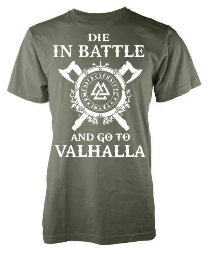 Die In Battle Go To Valhalla Asgard Kids T Shirt