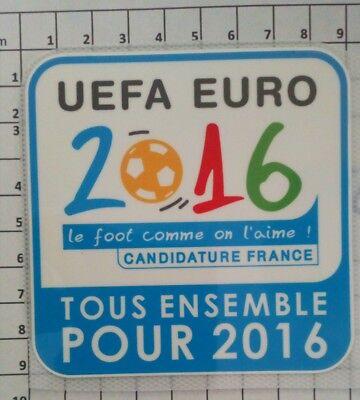 France Patch Badge LFP maillot foot Coupe de la Ligue 09//10 candidature Euro 16