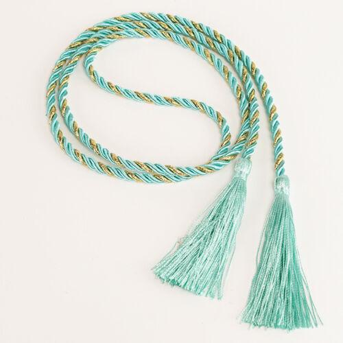 1Pair Rope Window Curtain Tiebacks Tassel Binding Rope Tie Backs Home Decor 1.3m